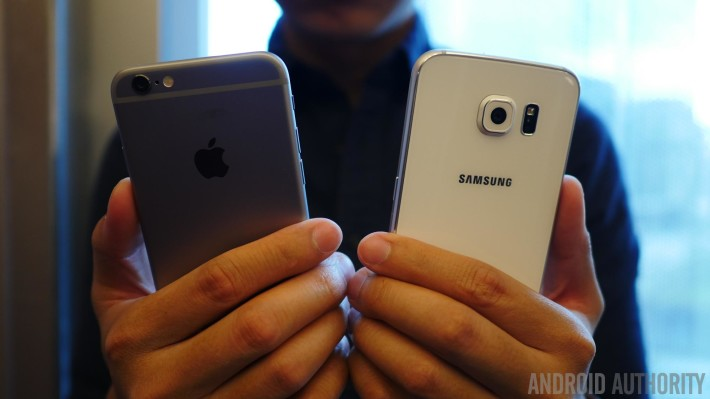 samsung galaxy s6 vs iphone 6 12