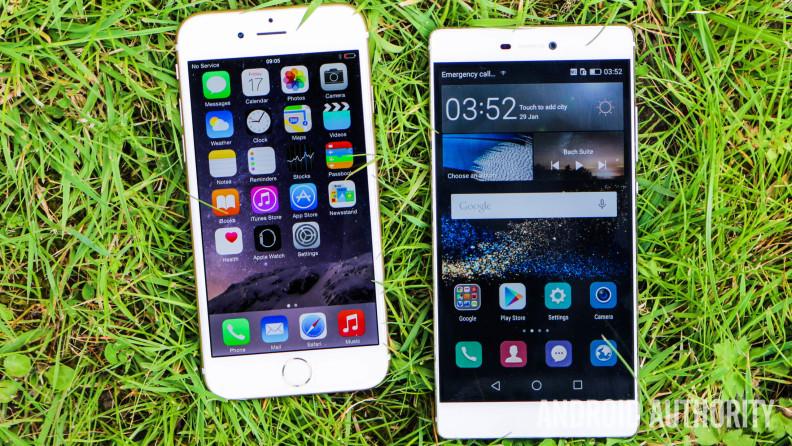 Huawei-P8-vs-Apple-iPhone-6-1