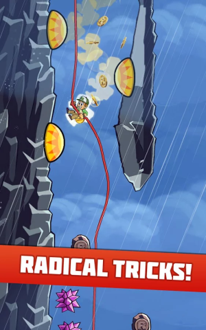 Radical Rappelling 3