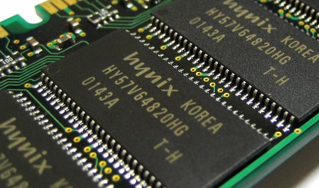 SK Hynix RAM memory chip
