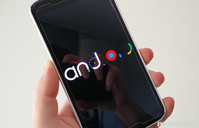 Android 6.0 Marshmallow boot animation new
