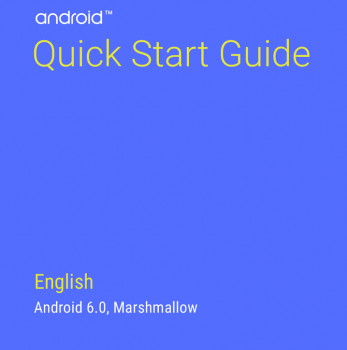 Android Quick Start Guide 6.0 Marshmallow