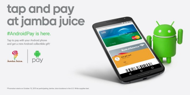 Jamba Juice Android Mini Collectible