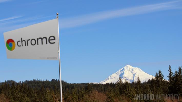 Chrome Flag Mount Hood