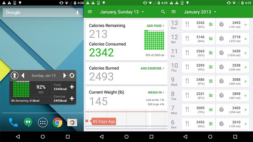 fatsecret best diet apps and best nutrition apps for Android