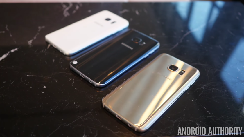 Samsung Galaxy S7 color comparison 4