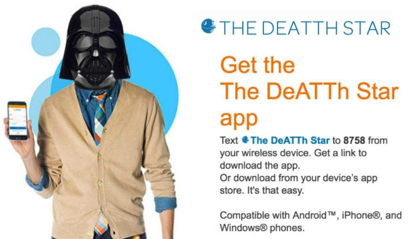 The DeATTh Star app