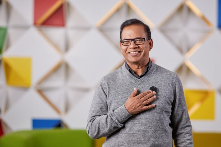 Amit Singhal, senior vice president and software engineer at Google