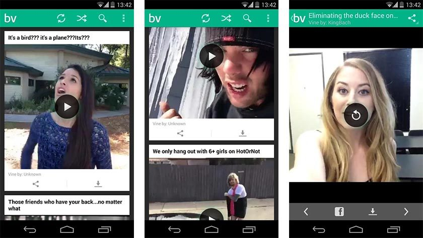 best vines best funny apps for Android