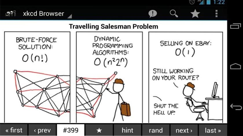 xkcd best funny apps for Android