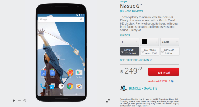 2015-03-11 21_39_07-Google Nexus 6 _ Verizon Wireless