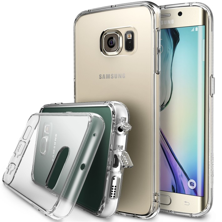 best samsung galaxy s6 and s6 edge cases \u2013 android bunkerringke fusion bumper for galaxy s6 edge