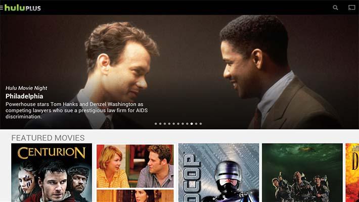 Hulu Plus chromecast apps