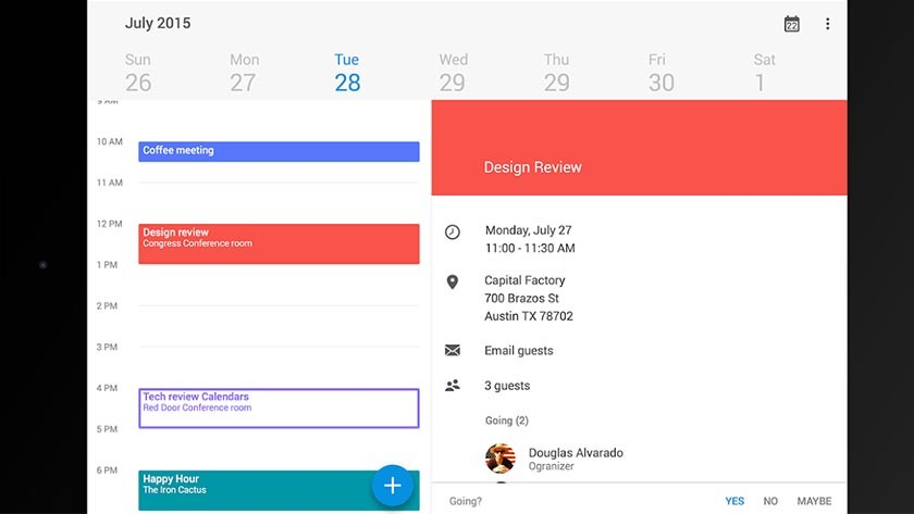 boxer calendar Android Apps Weekly