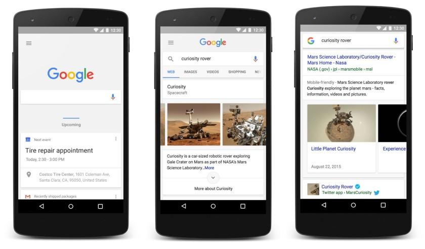 New google visual aa