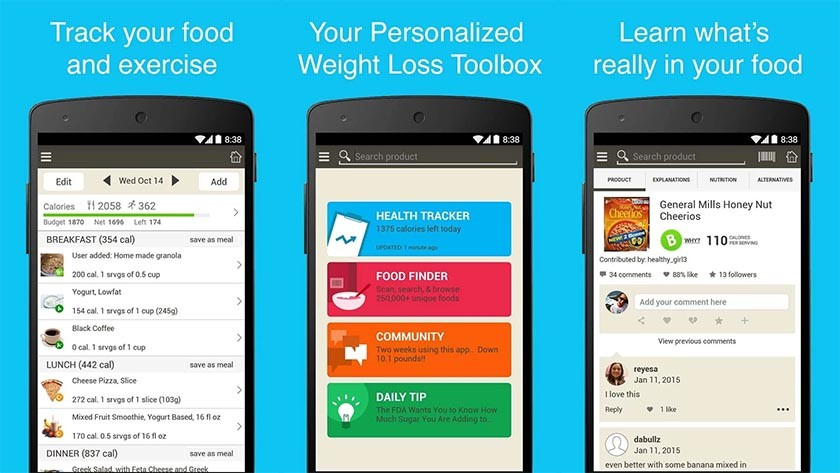 fooducate best diet apps and best nutrition apps for Android