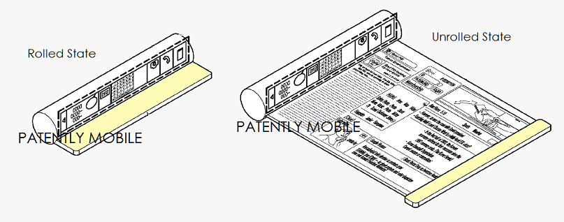 Samsung Scrollable Patent