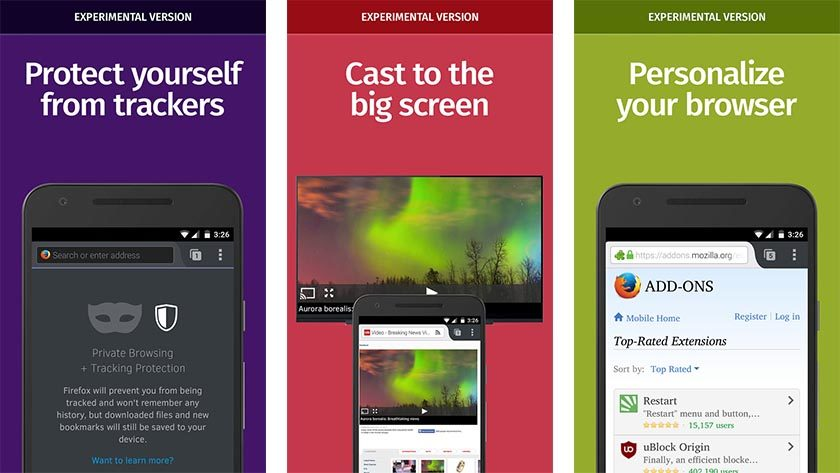 firefox aurora Android Apps Weekly