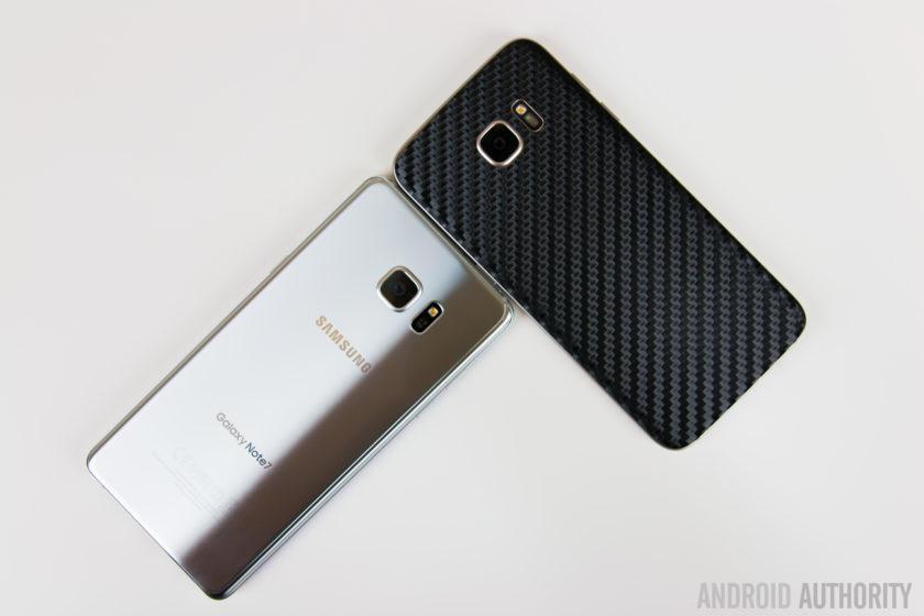Samsung Galaxy Note7 versus Samsung Galaxy S7 Edge-5