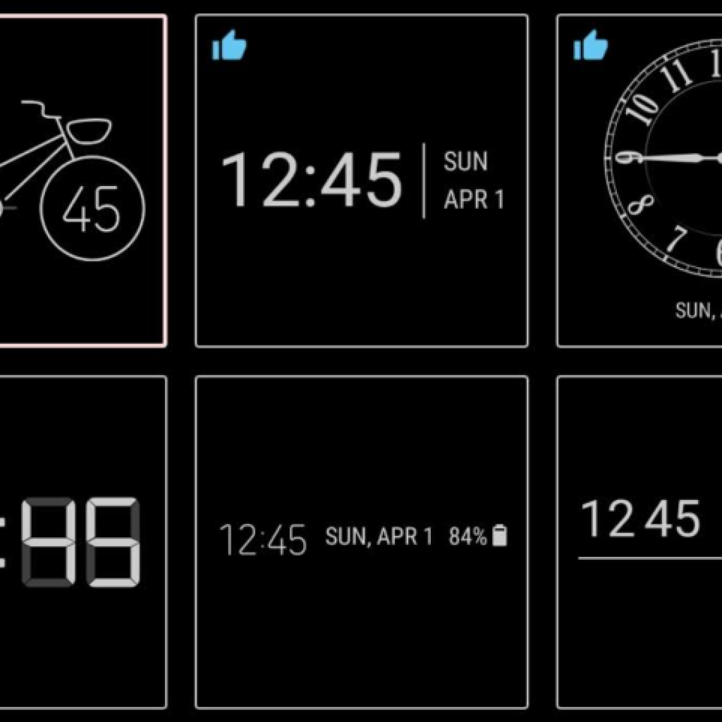 Samsung's new ClockFace app delivers more time styles for